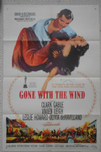 Gone With the Wind, original 1sheet poster, Clark Gable, Vivien Leigh, 'r61